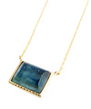 Square Kyanite Necklace / 02118