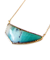 Beach side Blue Opal Necklace / 0298
