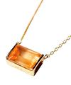 Sunset Quartz Sour Necklace / 02156