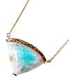 Paraiba tourmaline in Quartz Fruity Necklace / 02159