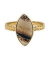 Montana Agate Ring / 0179