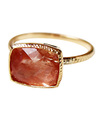 Scapolite in Sunstone Ring / 0191