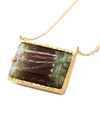 Zebra Tourmaline Necklace / 02150