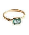Emerald Square Ring / 01206
