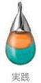 CAMESドロップ【実践】(カラーペンダント~色彩のお守り~/全144種類)(O-BG_078)