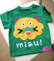 M&J neko nyan Tシャツ