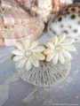 Rice Shell Flower Earring No,2