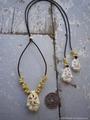 Sukashi Yellow Mongo Necklace No,1