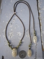 Sukashi Green Mongo Necklace No,2