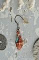 Mitra fraga in turquoise pierce No,11