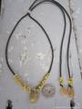 Sukashi Yellow Mongo Necklace No,2