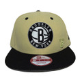 【Brooklyn Nets】Beige Black
