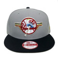 【New York Yankees】Gray Navy Red Gold