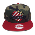 【Rochester Americans】Camo Red Navy