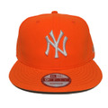 【New York Yankees】Neon Orange White