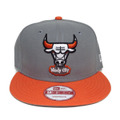 【Chicago Bulls】Storm Gray Orange