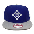 【Brooklyn Dodgers】Royal Gray White