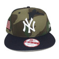 【New York Yankees】Camo Navy