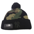 【New York Yankees】Camo Beanie