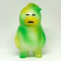"""【シンガポール限定】アレの見守りソフビ人形 """"HORNEST CAMO -GREEN"""" 蓄光GID"""