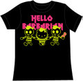 HELLO KITTY x deathmetal B black