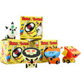 Shake-A-Tongue Toy Cars-BOX