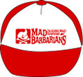 MAD LOGO CAP red