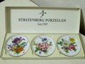 フュルステンベルク 小皿3枚セット