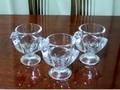 ニワトリ型 ガラス エッグスタンド3個:Luminarc ルミナーク