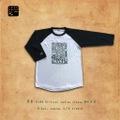 芽育×KRD Original raglan 3/4 sleeve size M