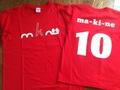 Tシャツ(赤)※150,S,