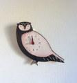 矢島幸代 フクロウの時計