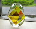 Glass Studio BiBi モザイク花器*イエロー