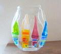 Glass Studio BiBi おうち花器大 A