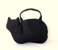 帆布のネコバッグ*黒猫
