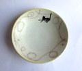矢島幸代 銀色猫の丸鉢E