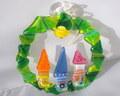Glass Studio BiBi ガラスのクリスマスリースE