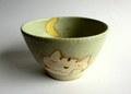 長田めぐみ ネコのお茶碗