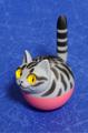 揺れ球ネコ(サバトラ)