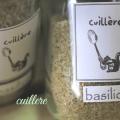 cuillere Sel aux herbes~basilico~ 自然栽培ハーブソルトシリーズ バジルソルト バジル数種類 ホーリーバジル クリシュナトゥルシー入り