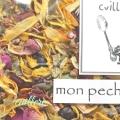 cuillereオリジナル オーガニックブレンドハーブティー ~ mon peche mignon ~ ブレンドハーブティー3点以上ご購入で定形外送料無料