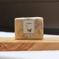 一番人気!! cuillere naturelle savon herbe「rose」 ~コールドプロセス製法雑貨ハーブソープシリーズ~ 自家製自然栽培ロサ・ガリカ・オフィシナリス使用