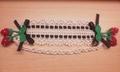 レース編み苺カチューム