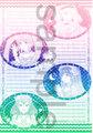【委託品】スター☆トゥインクルプリキュア グラデ便箋(chiroru様)