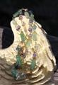 激レア1点もの! トルマリン結晶原石と宝石のコラボネックレス