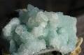 美結晶! プレナイト&アポフィライト共生 煌めきクラスターB