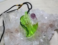 セール特価! 琉球ガラス ペンダントトップ てんとう虫