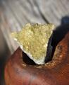 つぶつぶきらきら イエローフローライト 原石