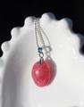結晶質 ロードナイト(薔薇輝石)カボッションペンダント