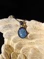 キラキラ7色…宝石質天然オパールペンダント
